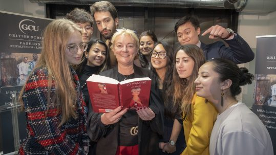 Jo Malone at the British School of Fashion