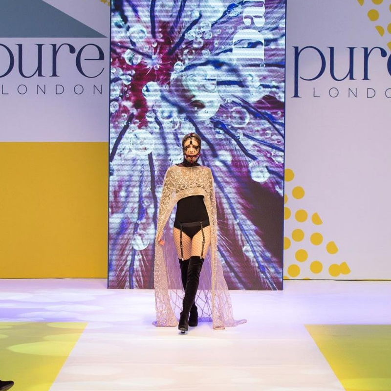 Pure Fashion blog header